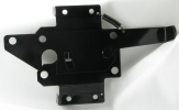 Large Paddle Latch Black